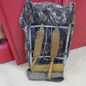 Photo of camo fleece hunting back pack