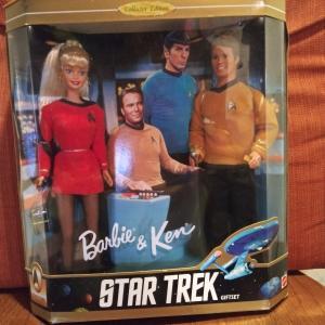 Photo of Barbie & Ken ...Star Trek