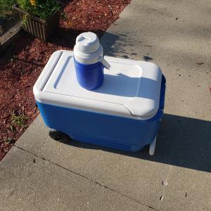Photo of Igloo Cooler on Wheels