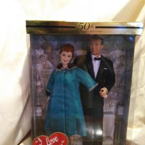 Photo of Barbie & Ken as Lucy & Ricky