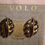 Paolo Gucci clip on earrings.