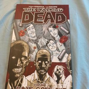 Photo of The walking dead volume 1 graphic novel