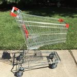 Metal Shopping Basket Cart
