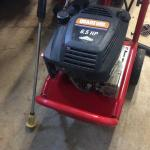 Troy Built Pressure Washer 2400 PSI