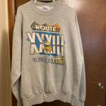 Adult xl Minnesota Vikings road to Super Bowl 33 sweatshirt
