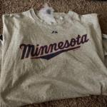 Adult xl Minnesota Twins inaugural season t-shirt
