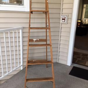 Photo of Wooden ladder