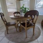 5 piece breakfast table