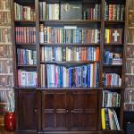 Bookcase with lighting