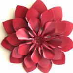 Large Metal wall flower art