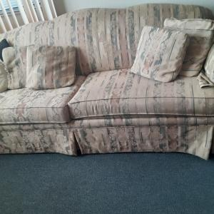Photo of Sofa with pillows