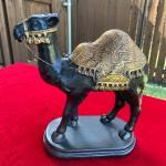 Large Camel Figure with Ornate Saddle