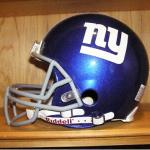 NEW YORK GIANTS RIDDELL  FULL SIZE FOOTBALL HELMET