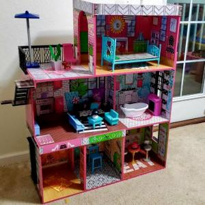 Photo of Dollhouse and accessories