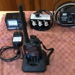 Baofung 2 meter Hand-Held Transciever with charger, SWR Meter,