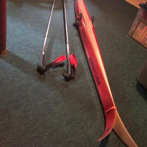Photo of Cross country skiis