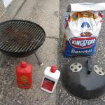"""15"""" Barbecue Kettle Charcoal Grill"""