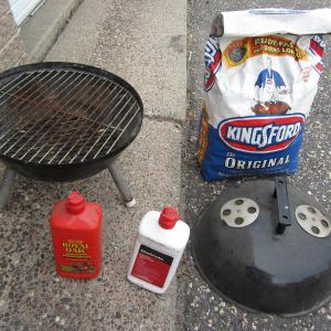 """Photo of 15"""" Barbecue Kettle Charcoal Grill"""