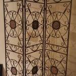 Decorative metal divider