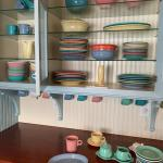 Fiestaware dinner service plus