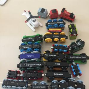 Photo of Lot of Thomas trains