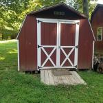 12ft x 6ft Red Shed