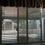 Nice Faux Wood Blinds.