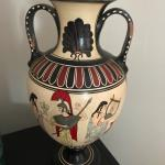 Antique handmade in Greece vase