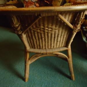 Photo of Wicker chair
