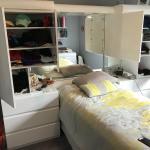 Bedroom -Wall Unit-Custom -White