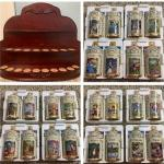 Complete Lenox Disney Spice Jar Collection  w/ original rack