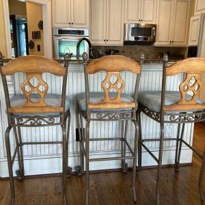 Photo of Bar height bar stools