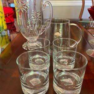 Photo of Pitchers and High Ball Glasses