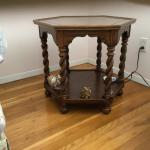 Ethan Allen Oak End Table
