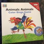 Animals Color Bingo