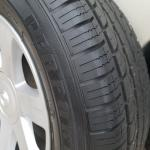 Car Rims with Full Size Spare Tire