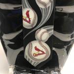 St.Louis Cardinals Curve Ball Neck Tie