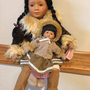 Photo of Alaskan doll