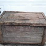 Old woo carpenters box