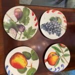 William Sonoma Fruit Plates