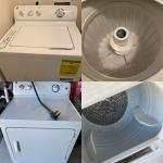 GE Standard Washer and Dryer