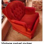 Vintage Swivel Rocker