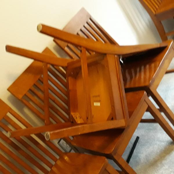 Photo of 6 Dining chairs solid wood