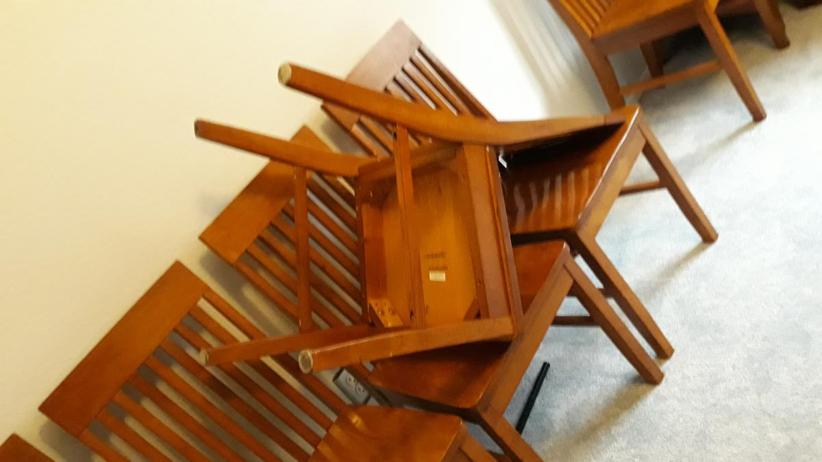 Photo 1 of 6 Dining chairs solid wood