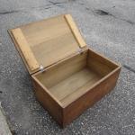"Wood Box 30x12x18"""