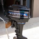 7.5 horse Mercury outboard motor