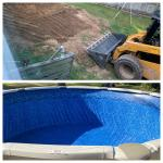 FREE QUOTE-Above ground & semi inground swimming pools