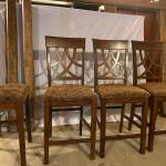 3 counter height bar stools