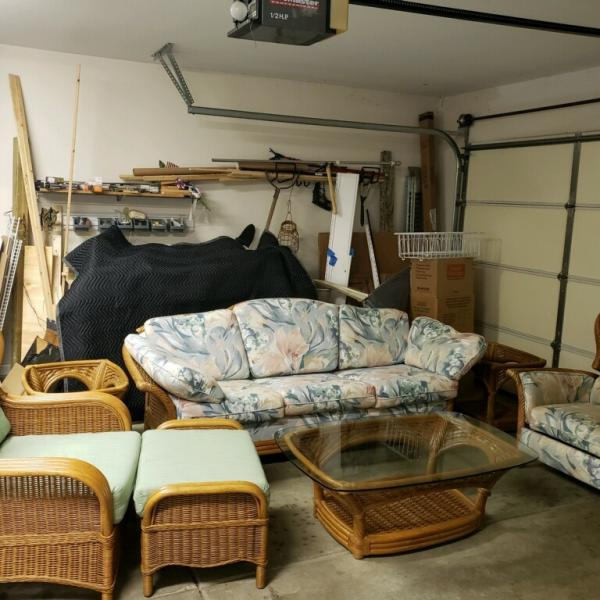 Photo of 7 Piece Rattan Furniture Set