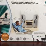 Wireless Music System for PC